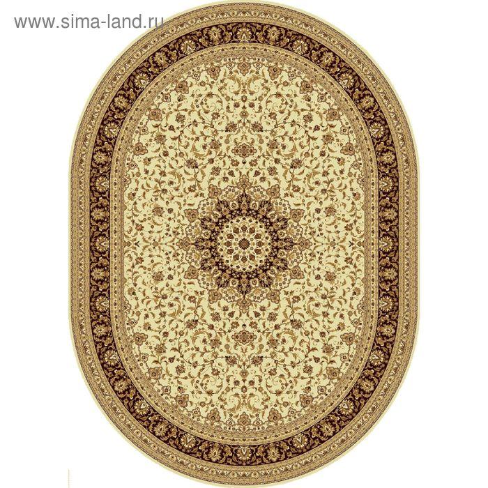 Ковёр овальный ISFAHAN CLASSIC,  размер 150х225 см, рисунок 207/1149 0105