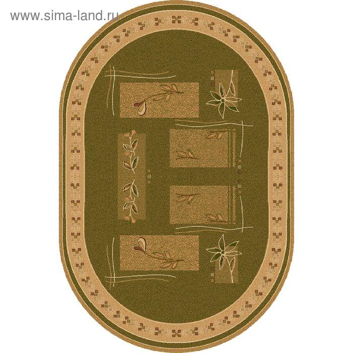 Ковёр овальный LAVANDA CLASSIC MODERN,  размер 200х400 см, рисунок 234/5542 0105