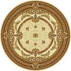 Ковёр круглый DOFIN CLASSIC EUROPEAN,  размер 150х150 см, рисунок 209/1149 0105