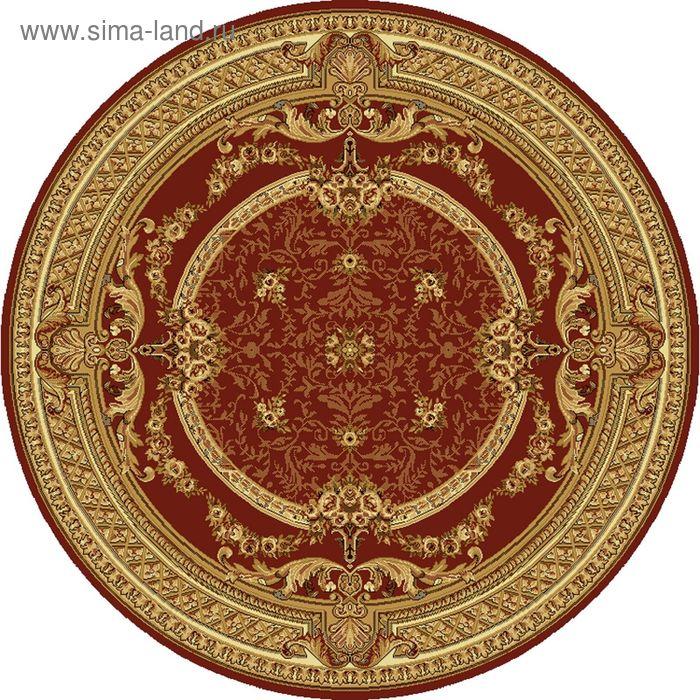 Ковёр круглый DOFIN CLASSIC EUROPEAN,  размер 150х150 см, рисунок 209/3658 0105