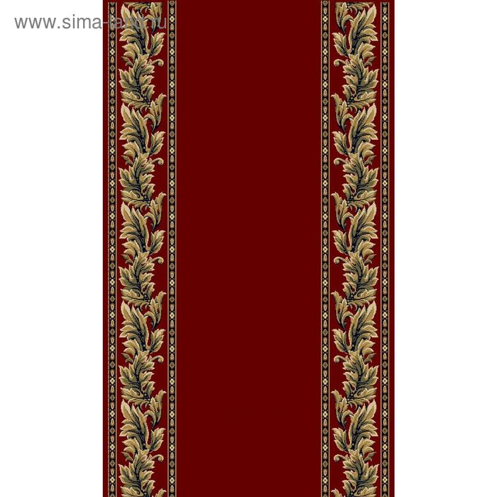 Дорожка KREMLIOVSCAIA EUROPEAN CLASSIC,  ширина 90 см, рисунок 123/3317, 0102