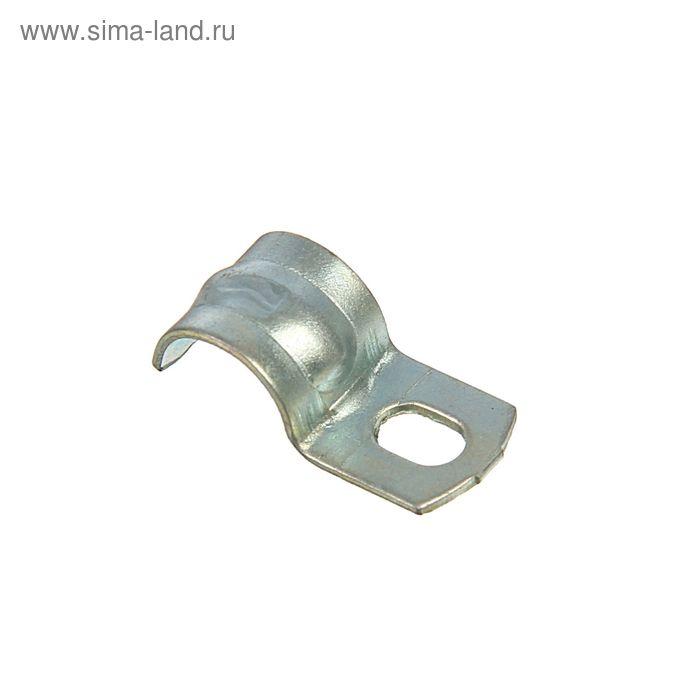 Скоба однолапковая СМО 8-9, металлическая