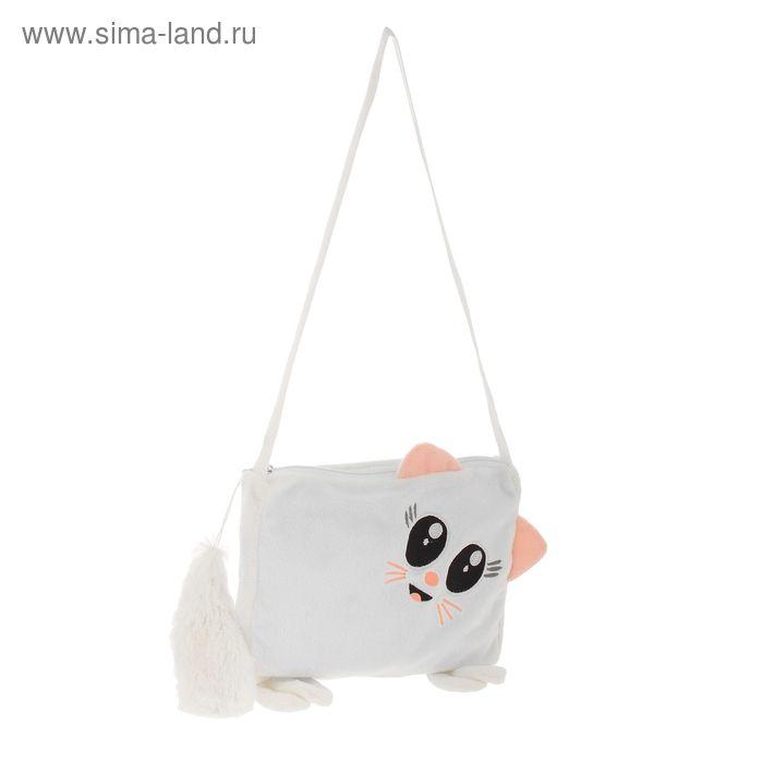 Мягкая игрушка-сумка «Кошка»