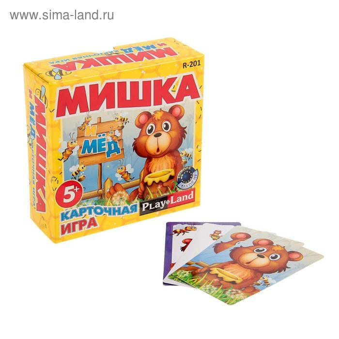 """Настольная игра """"Мишка и мёд"""""""