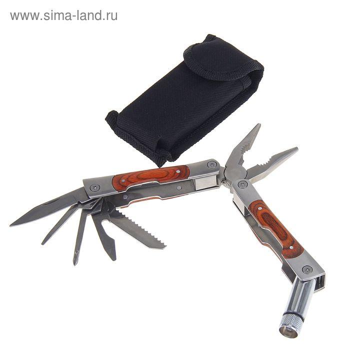 Инструмент многофункциональный 6в1, рукоять под дерево