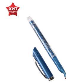 Ручка шариковая Flair Angular для левшей, узел-игла 0.7 , стержень синий, в блистере 42985