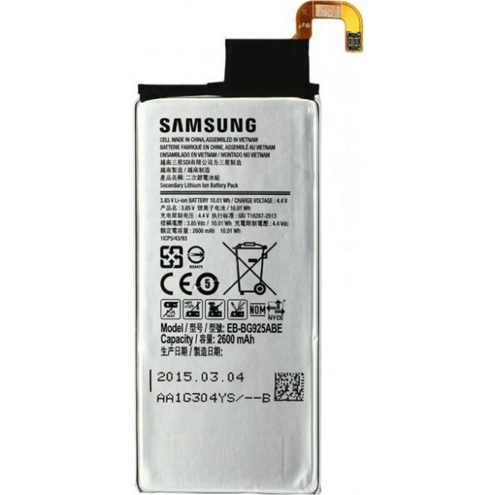 Аккумулятор SAMSUNG EB-BG925ABE  G925F/Galaxy S6 Edge