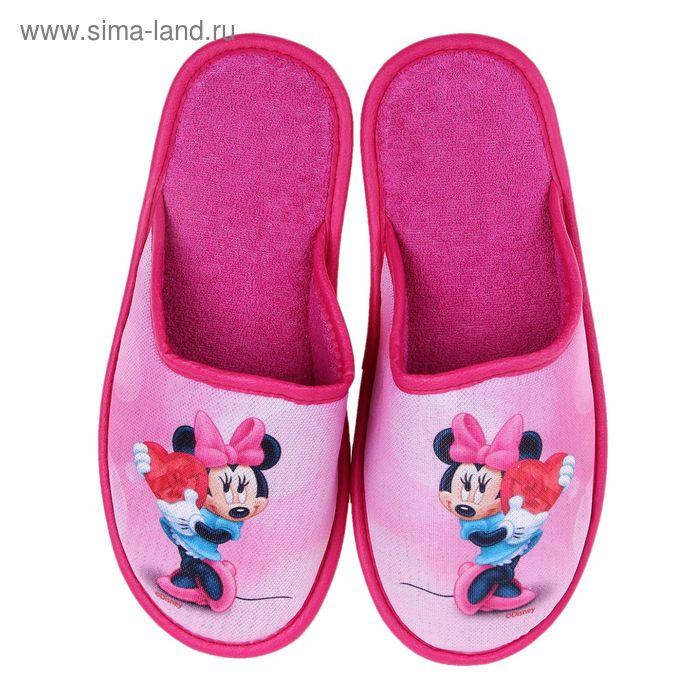 Тапочки Disney, размер 38, цвет розовый (арт. BTW70601-34-03)