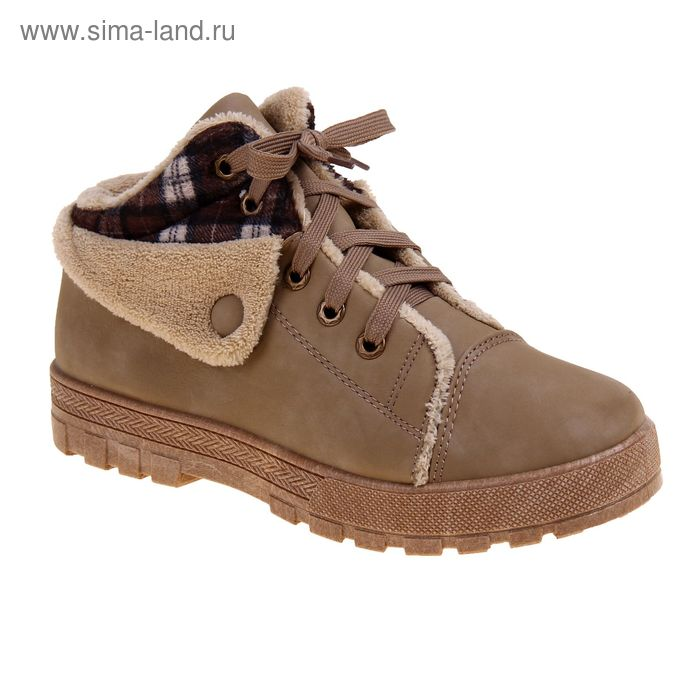 Ботинки женские, размер 40, цвет бежевый (арт. LEW 0053-3)