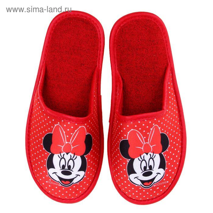 Тапочки Disney, размер 40, цвет красный (арт. BTW70601-34-01)