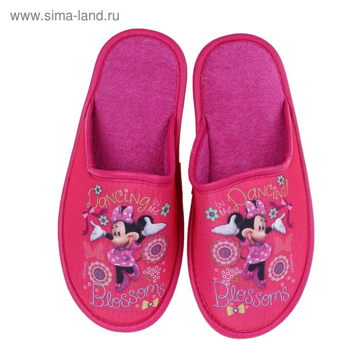 Тапочки Disney, размер 37, цвет розовый (арт. BTW70601-34-05)