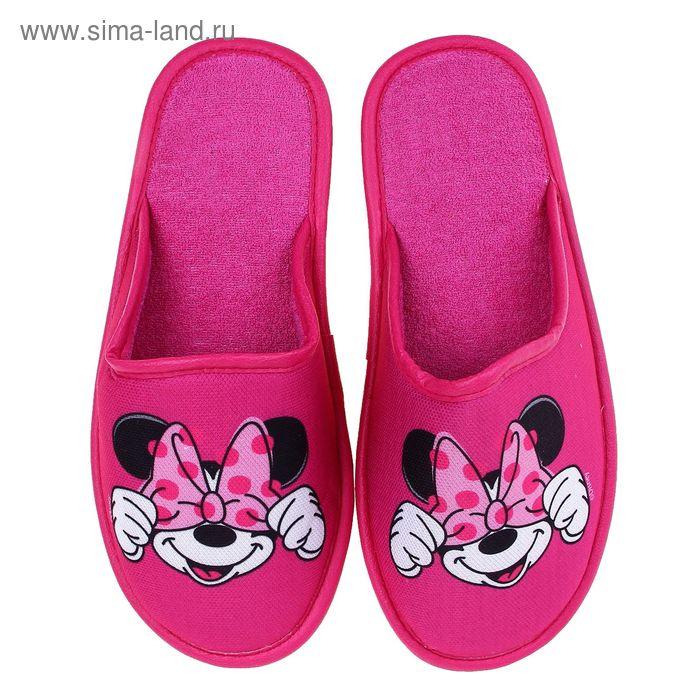 Тапочки Disney, размер 40, цвет розовый (арт. BTW70601-34-11)