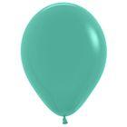 """Шар латексный 12"""", перламутр, набор 25 шт., цвет светло-зелёный"""