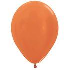"""Шар латексный 12"""", перламутр, набор 25 шт., цвет оранжевый"""