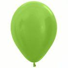 "Шар латексный 12"", перламутр, набор 25 шт., цвет зелёный"