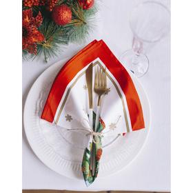 """Столовый набор """"Этель"""" Новогодняя сказка, скатерть 180х150 см, салфетки 40х40 см - 8 шт."""