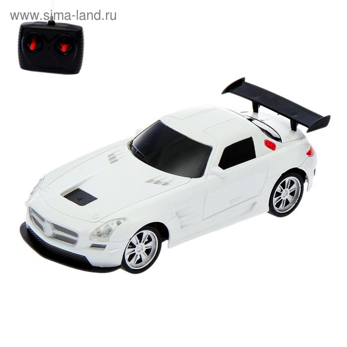 """Машина радиоуправляемая """"Купе"""", световые эффекты, работает от батареек, 1:22, цвета МИКС"""