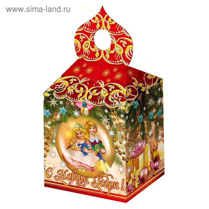 """Подарочная коробка """"Ретро"""", купол, сборная 13,9х10,3х18,5 см"""