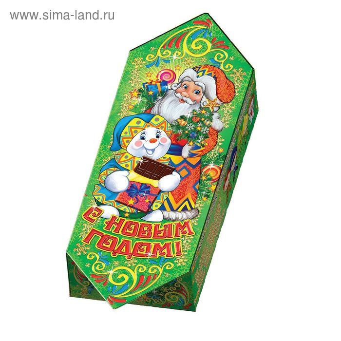 """Подарочная коробка """"Конфета зеленая"""", сборная, 5,5x10,5x18,5 см"""