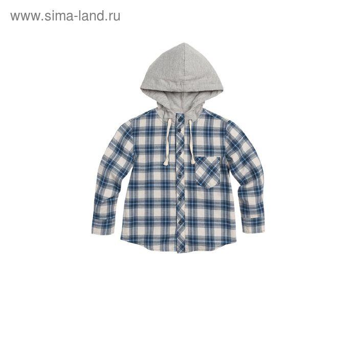 Сорочка верхняя для мальчиков, 3 года, цвет Серый BWJX372