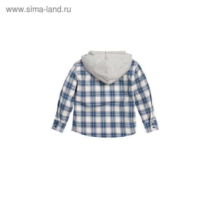 Сорочка верхняя для мальчиков, 5 лет, цвет Серый BWJX372