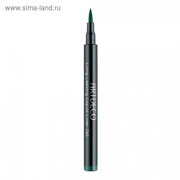 Подводка для глаз Artdeco Long lasting, тон 6, зеленая, 1,5 мл