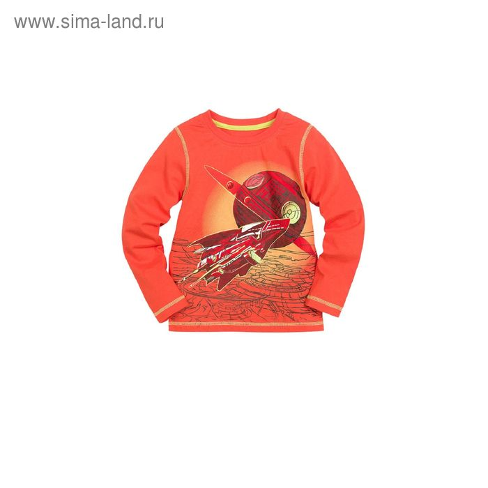 Джемпер для мальчиков, 2 года, цвет Красный BJR375