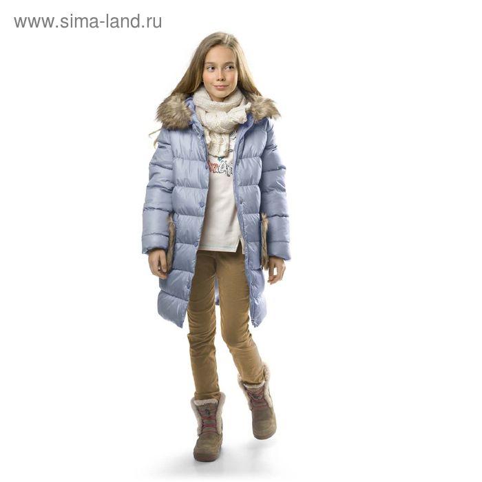 Брюки для девочек, 11 лет, цвет Бежевый GWP4003/1