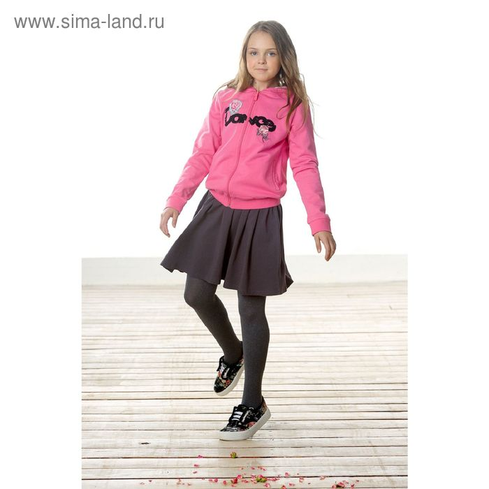 Джемпер для девочек, 7 лет, цвет Розовый GJXK4005