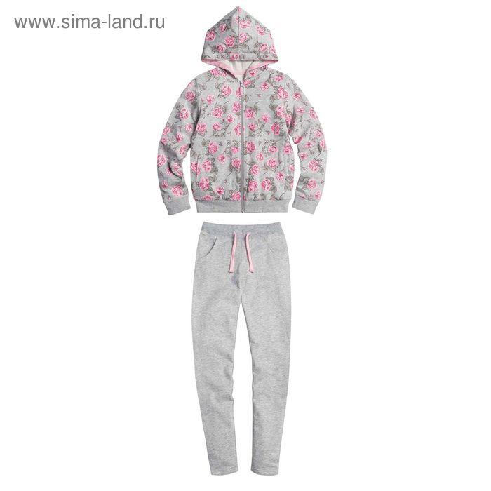 Комплект для девочек, 10 лет, цвет Серый GAXP4005
