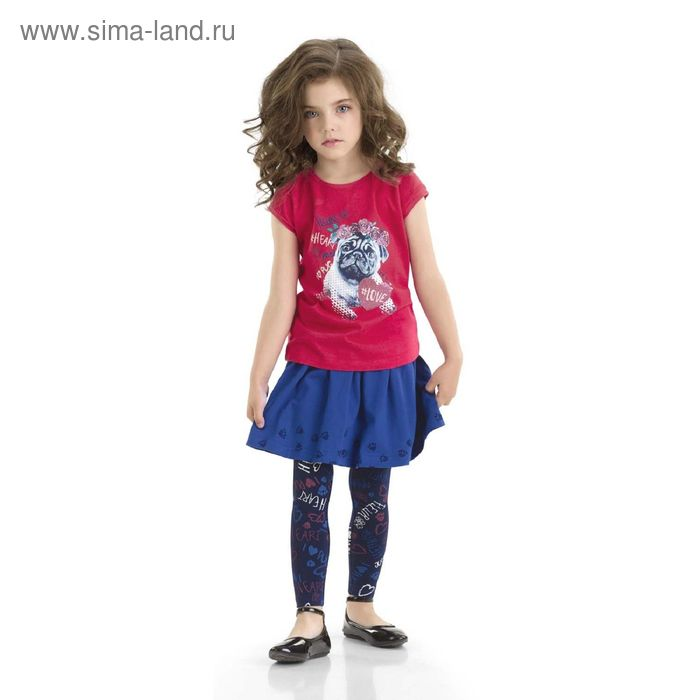 Брюки для девочек, 2 года, цвет Синий GL3006