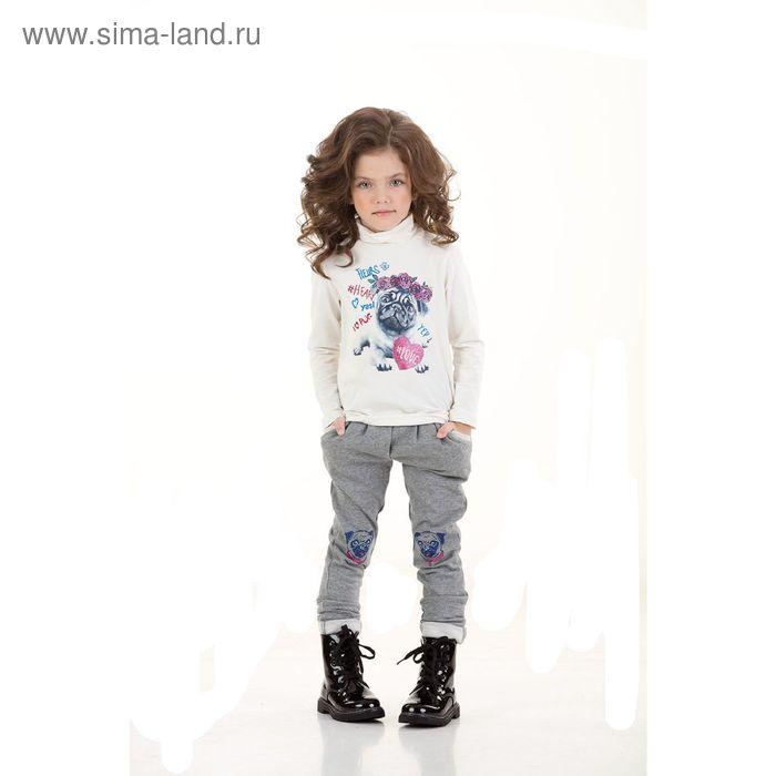 Брюки для девочек, 4 года, цвет Серый GP3006