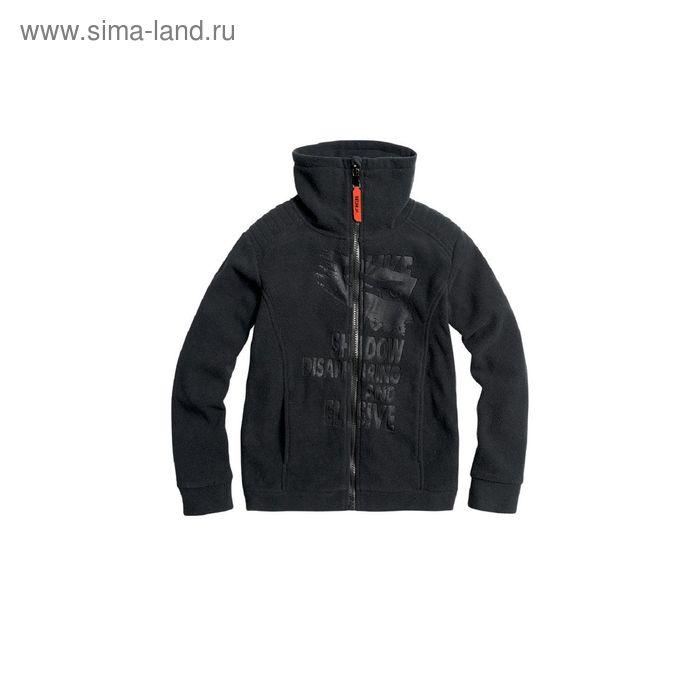 Куртка для мальчиков, 6 лет, цвет Черный BJX473