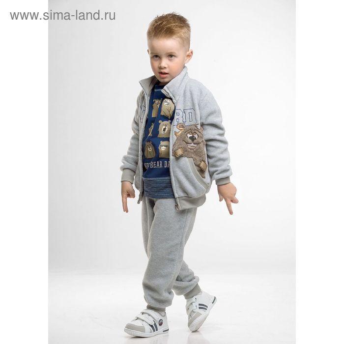 Комплект для мальчиков, 3 года, цвет Серый BAXP372