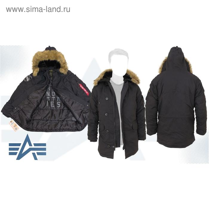 Куртка утеплённая Altitude Parka Alpha Industries Black, L
