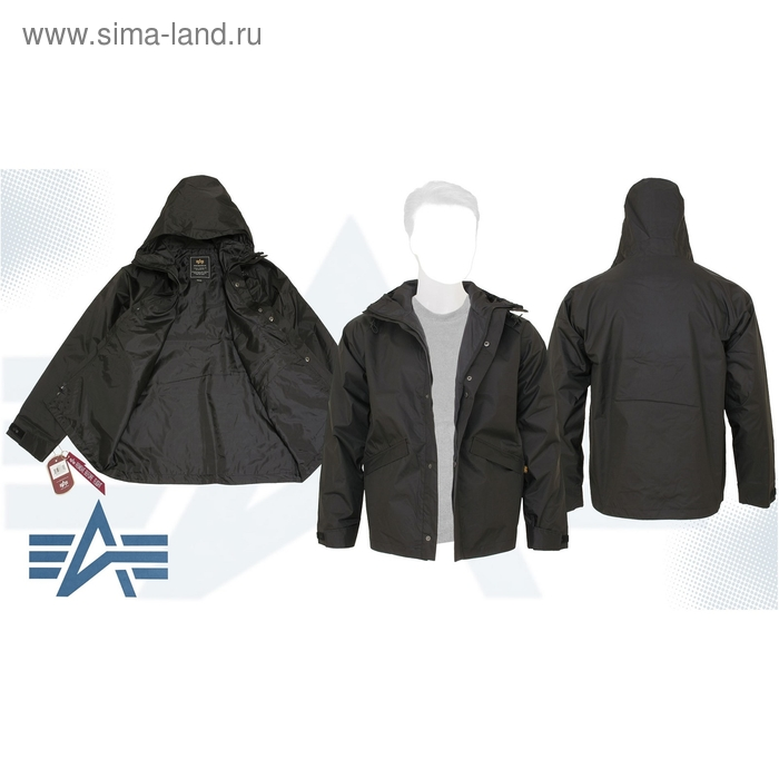 Куртка Bunker Alpha Industries Black, L