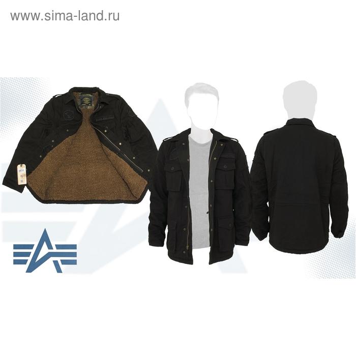 Куртка утеплённая M-65 Altimeter Alpha Industries Black, 3XL