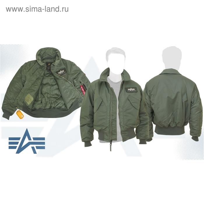 Куртка утеплённая CWU 45/P Alpha Industries Sage Green, M