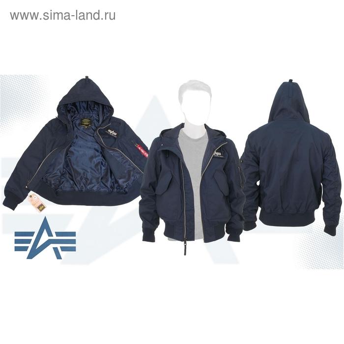 Куртка Glennon Alpha Industries Replica Blue, 2XL