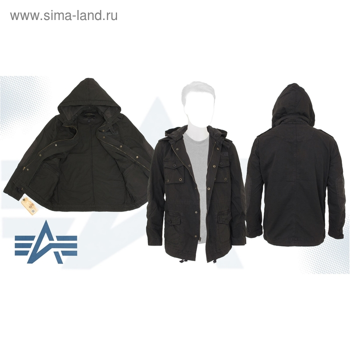 Куртка Mcmillian Alpha Industries Black, M
