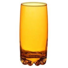 "Стакан 385 мл ""Сильвана. Enjoy"", цвет оранжевый"