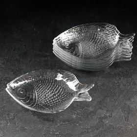 "Набор блюд 19,8х15,8 см ""Рыба. Marine"" 6 шт"
