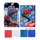 """Мозаика стикерная """"Крутого Нового года"""" Человек-паук , EVA стикеры + стразы"""