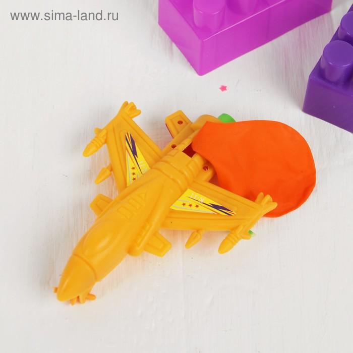 """Заводная игрушка """"Самолет"""" с шариком"""
