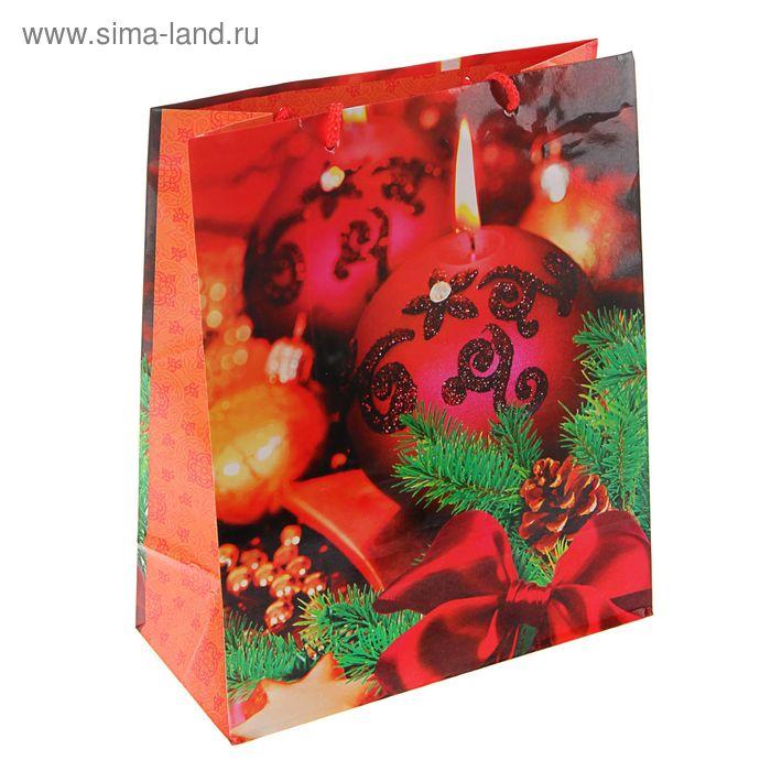 """Пакет подарочный """"Свечение"""", 32 х 26 х 12 см"""