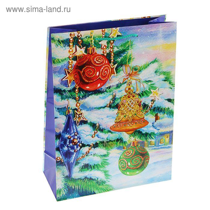 """Пакет подарочный """"Сказка в лесу"""", 36 х 26.4 х 11.5 см"""