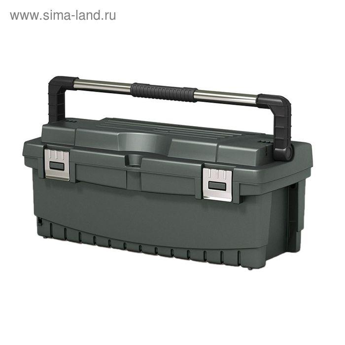 """Ящик для инструментов Hammer 26"""", с металлическим замком"""