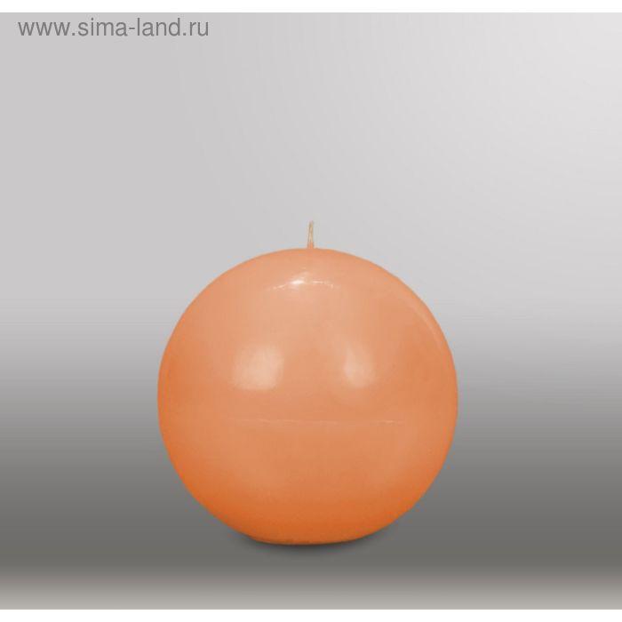 """Свеча шар """"Классика"""", d=125мм,  терракотовый"""