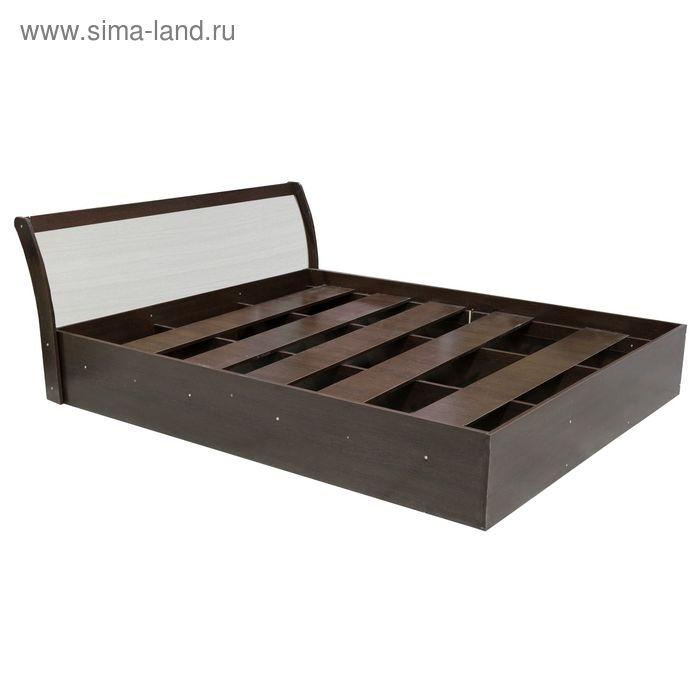 Кровать Кр-13 770*1670*2190 Дуб шампань/Венге