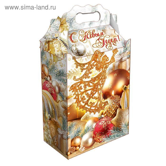 "Подарочная коробка ""Клипарт"", сборная, 20,3 х 12,3 х 41 см"